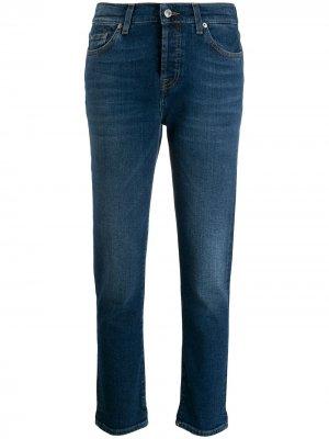Укороченные джинсы скинни 7 For All Mankind