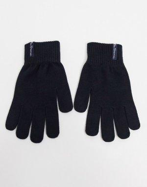 Черные перчатки santos-Черный Ben Sherman