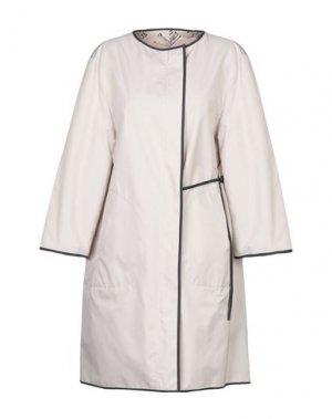 Легкое пальто AKRIS PUNTO. Цвет: бежевый