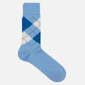Носки Manchester Burlington. Цвет: голубой
