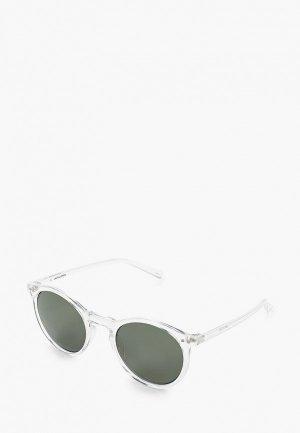 Очки солнцезащитные Jack & Jones. Цвет: белый