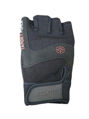 Перчатки для фитнеса STARFIT SU-118,. Цвет: черный