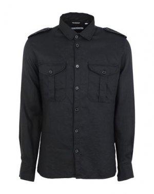 Pубашка GREY DANIELE ALESSANDRINI. Цвет: черный