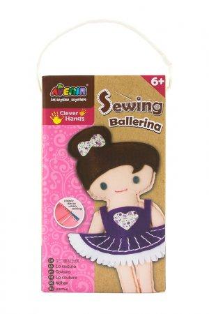 Набор для шитья Балерина Avenir. Цвет: коричневый