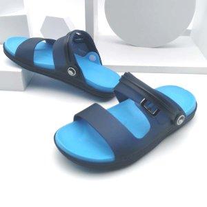 Спортивные сандалии с пряжкой для мальчиков SHEIN. Цвет: синий