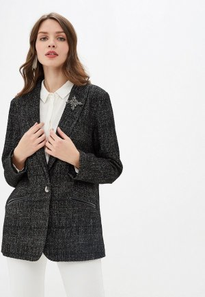 Пиджак Argent. Цвет: черный
