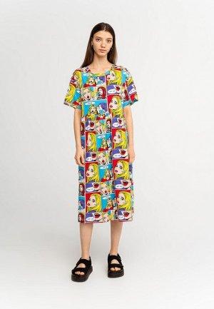 Платье Befree Exclusive online. Цвет: разноцветный