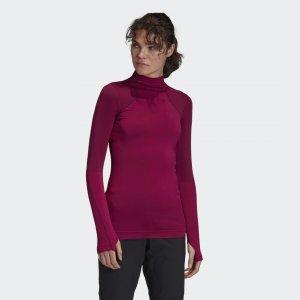 Лонгслив Knit TERREX adidas. Цвет: фиолетовый