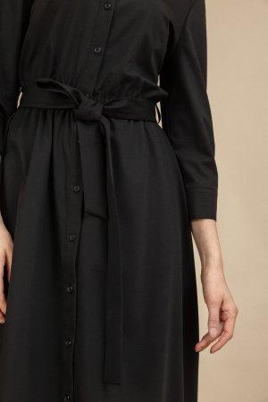 Платье с поясом EMKA
