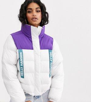 Белая дутая куртка -Белый Helly Hansen