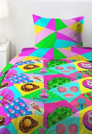 Постельное белье детское 4 you. Цвет: разноцветный