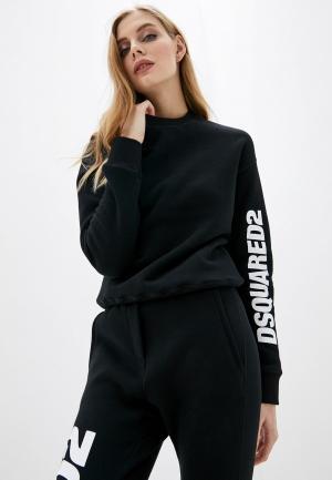 Свитшот Dsquared2 Underwear. Цвет: черный