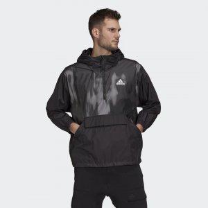Анорак Back to Sport WIND.RDY Performance adidas. Цвет: черный