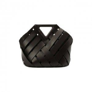 Сумка Point Basket Bottega Veneta. Цвет: коричневый