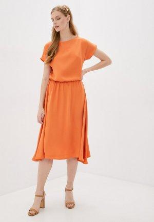Платье Imago. Цвет: оранжевый