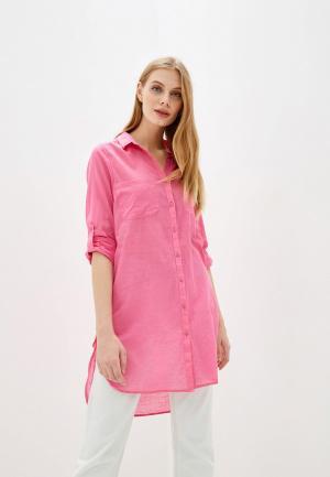 Туника пляжная Marks & Spencer. Цвет: розовый