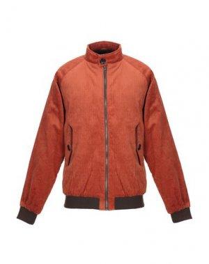 Куртка ANERKJENDT. Цвет: ржаво-коричневый