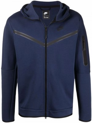 Худи Sportswear Club на молнии Nike. Цвет: синий