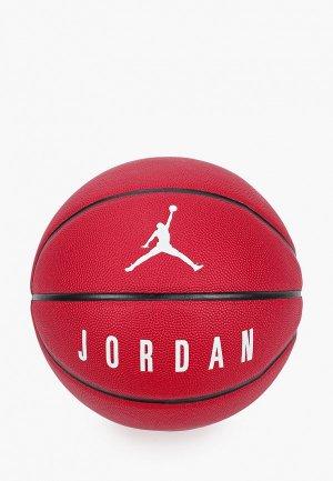 Мяч баскетбольный Nike JORDAN ULTIMATE 8P. Цвет: бордовый
