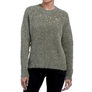 Пуловер с воротником-стойкой и вышивкой на вырезе FREEMAN T. PORTER. Цвет: хаки