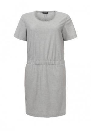 Платье Samoon by Gerry Weber SA037EWORR60. Цвет: серый