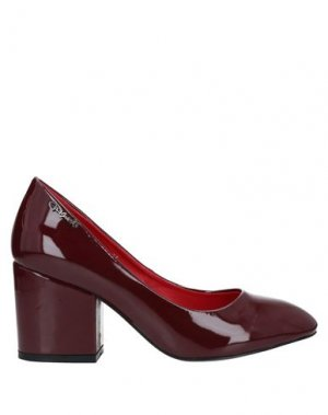 Туфли GAI MATTIOLO. Цвет: красно-коричневый