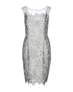 Платье до колена LEXUS. Цвет: серый