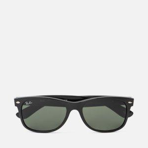 Солнцезащитные очки New Wayfarer Ray-Ban. Цвет: чёрный