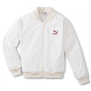 Детская куртка T4C Full Zip Kids' Jacket PUMA. Цвет: мульти