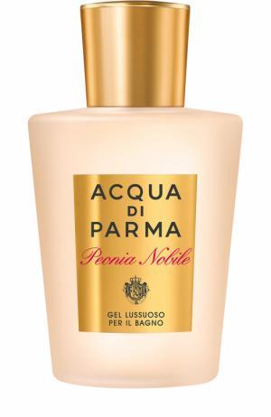 Гель для душа Peonia Nobile Acqua di Parma. Цвет: бесцветный