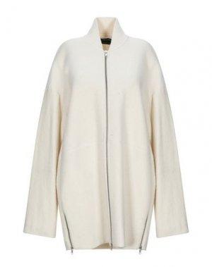 Легкое пальто ISABEL DE PEDRO. Цвет: слоновая кость