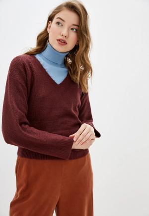 Пуловер Tom Tailor. Цвет: бордовый