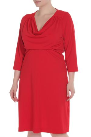 Платье Fiorella Rubino. Цвет: красный