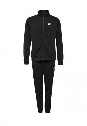 Костюм спортивный Nike Mens Sportswear Track Suit. Цвет: черный