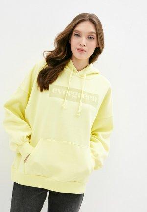 Худи Sela Exclusive online. Цвет: желтый
