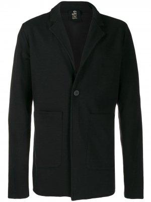 Легкий пиджак на одной пуговице Thom Krom. Цвет: черный