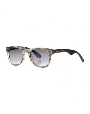 Солнечные очки JIMMY CHOO LONDON. Цвет: бежевый