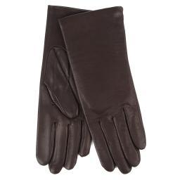 Перчатки INES/AGN/W темно-коричневый AGNELLE