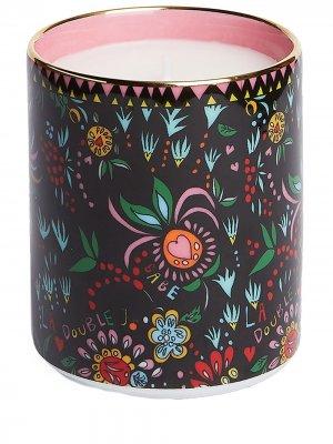 Ароматическая свеча Babe La Doublej. Цвет: черный