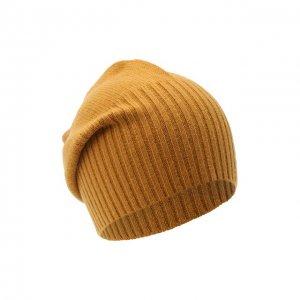 Кашемировая шапка Allude. Цвет: коричневый