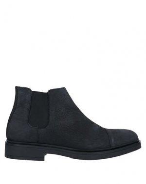 Полусапоги и высокие ботинки BALDININI. Цвет: черный