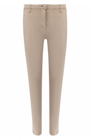 Укороченные брюки Jacob Cohen. Цвет: бежевый