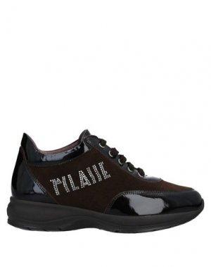 Низкие кеды и кроссовки ALVIERO MARTINI 1a CLASSE. Цвет: темно-коричневый