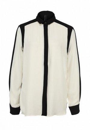Блуза AQ/AQ AQ003EWJA190. Цвет: белый