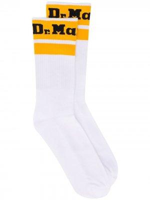 Носки с логотипом Dr. Martens. Цвет: белый