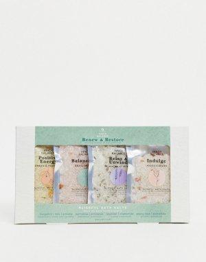 Набор соли для ванн с восстанавливающим эффектом -Бесцветный Aroma Home