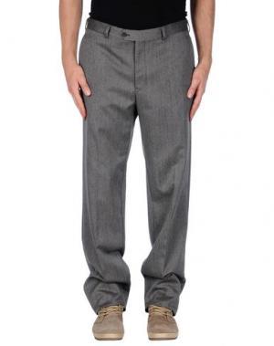 Повседневные брюки HUB. Цвет: серый