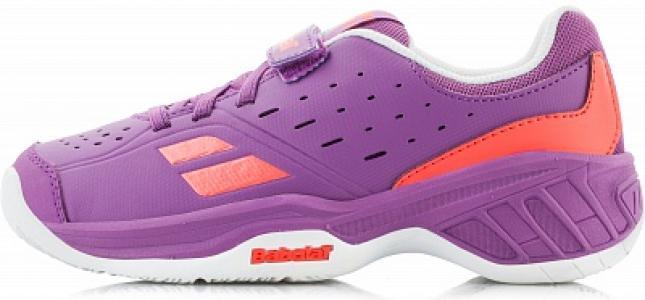 Кроссовки для девочек Pulsion All Court, размер 25,5 Babolat. Цвет: фиолетовый