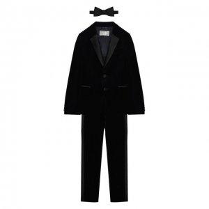 Комплект с галстуком-бабочкой Il Gufo. Цвет: синий