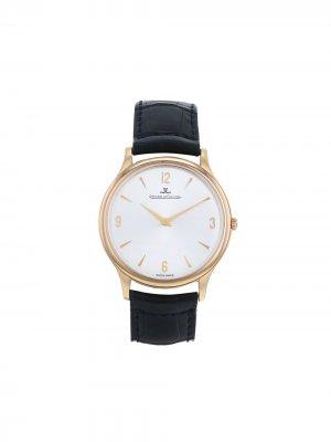 Наручные часы Master Ultra Thin pre-owned 34 мм 2004-го года Jaeger-LeCoultre. Цвет: белый